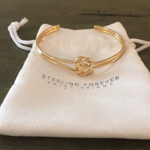 Serling Forever gold cuff.